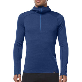 Patagonia M's Capilene Thermal Weight Zip Neck Hoody Viking Blue/Navy Blue X-Dye